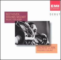 Beethoven, Brahms, Mozart: Music for Horn - Alison McGillivray (cello); Andrea Morris (violin); Andrew Clark (natural horn); Geoffrey Govier (piano);...
