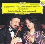 Beethoven: Cello Sonatas Op. 69 & 102; Variations - Martha Argerich (piano); Mischa Maisky (cello)