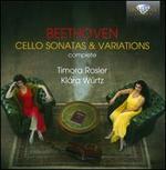 Beethoven: Cello Sonatas & Variations