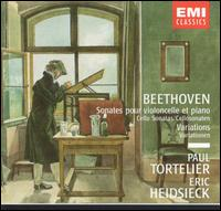 Beethoven: Cello Sonatas - Eric Heidsieck (piano); Paul Tortelier (cello)