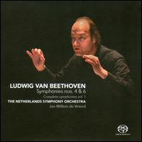 Beethoven: Complete Symphonies Vol. 1 - Symphonies Nos. 4 & 6 - Netherlands Symphony Orchestra; Jan Willem de Vriend (conductor)