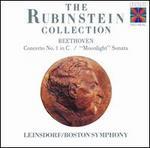 """Beethoven: Concerto No. 1; """"Moonlight"""" Sonata"""