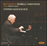 Beethoven: Diabelli Variations; Bach: Partita No. 4 - Stephen Kovacevich (piano)