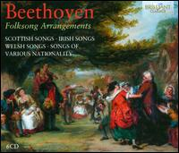 Beethoven: Folksong Arrangements - Antonia Bourvé (soprano); Armin Ude (tenor); Barbara Emilia Schedel (soprano); Bernhard Schwarz (cello); Brahms-Trio;...