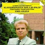 Beethoven: Klaviersonaten Nos. 5, 10, 19 & 20