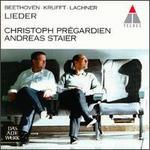 Beethoven, Krufft, Lachner: Lieder