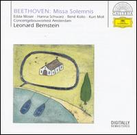Beethoven: Missa Solemnis - Edda Moser (soprano); Hanna Schwarz (contralto); Kurt Moll (bass); René Kollo (tenor);...