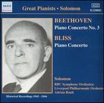 Beethoven: Piano Concerto No. 3; Bliss: Piano Concerto