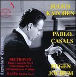 Beethoven: Piano Concerto No. 4; Cello Sonata No. 5 & 32 Variations in C minor; Bach: Partita