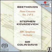 Beethoven: Piano Concertos No. 2 & 4 - Stephen Kovacevich (piano); BBC Symphony Orchestra; Colin Davis (conductor)