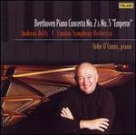 """Beethoven: Piano Concertos No. 2 & No. 5 """"Emperor"""""""