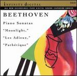 "Beethoven: Piano Sonatas ""Moonlight,"" ""Les Adieux,"" ""Pathétique"""
