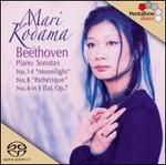 "Beethoven: Piano Sonatas No. 14 ""Moonlight"", No. 8 ""Path�tique"", No. 4 in E flat, Op. 7"