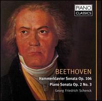 Beethoven: Piano Sonatas - Georg Friedrich Schenck (piano)