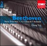 """Beethoven: Piano Trios Nos. 1, 4, 5 """"Ghost"""" & 7 """"Archduke"""""""