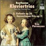 Beethoven: Piano Trios, Op. 11 & 36 - Chia Chou (piano); Michael Gross (cello); Trio Parnassus; Wolf-Dieter Streicher (violin)