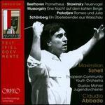 Beethoven: Prometheus; Strawinsky: Feuervogel; Mussorgsky: Eine Nacht auf dem kahlen Berge; Prokofjew: Romeo und Juli