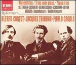 Beethoven, Schubert, Mendelssohn, Schumann, Haydn: Klaviertrios; Brahms: Doppelkonzert