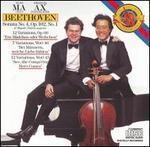 Beethoven: Sonata No. 4, Op. 102, No. 1; 12 Variaions, Op. 66; 7 Variations, WoO 46; 12 Variations, WoO 45