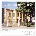 Beethoven: String Quartet in C-sharp minor, Op. 131; Britten: String Quartet No. 3, Op. 94