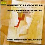 Beethoven: String Quartet, No. 13/Schnittke: String Quartet, No. 3 - Andrew Shulman (cello); Britten String Quartet; Keith Pascoe (violin); Peter Lale (viola); Peter Manning (violin)