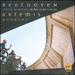 Beethoven: String Quartets Op. 18/3, Op. 18/5 & Op. 135