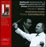 Beethoven: Symphonie No. 4; Mozart: Klavierkonzert KV 488; Strauss: Sinfonia domestica