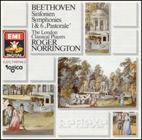 "Beethoven: Symphonies 1 & 6 ""Pastorale"" - London Classical Players; Roger Norrington (conductor)"