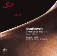 Beethoven: Symphonies Nos. 1-9 [Special Edition]  - Gerald Finley (bass); Gordan Nikolic (violin); John MacMaster (tenor); Karen Cargill (mezzo-soprano); Lars Vogt (piano);...