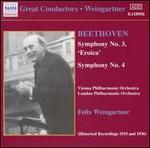 "Beethoven: Symphonies Nos. 3 ""Eroica"" & 4"