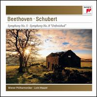 Beethoven: Symphony No. 5; Schubert: Symphony No. 8 - Vienna Philharmonic Orchestra; Lorin Maazel (conductor)