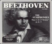 Beethoven: The Symphonies, Vol. 1 - City of Birmingham Symphony Orchestra; Walter Weller (conductor)