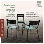 Beethoven: Trio; Brahms: Trio; Weber: Grand Duo