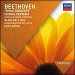 Beethoven: Triple Concerto; Choral Fantasia; Coriolan & Egmont Overtures