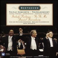 Beethoven: Triple Concerto; Choral Fantasy - Andrea Bonig (mezzo-soprano); Carola Hohn (soprano); Daniel Barenboim (piano); Endrik Wottrich (tenor);...
