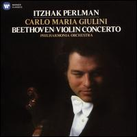 Beethoven: Violin Concerto - Itzhak Perlman (violin); Kreisler (candenza); Philharmonia Orchestra; Carlo Maria Giulini (conductor)