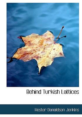 Behind Turkish Lattices - Jenkins, Hester Donaldson