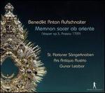 Benedikt Anton Aufschnaiter: Memnon sacer ab oriente