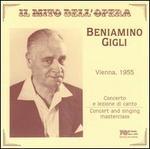 Beniamino Gigli in Vienna