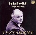 Beniamino Gigli: Songs 1954-1955