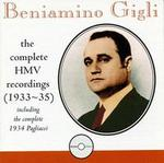 Beniamino Gigli: The HMV Recordings, 1933-35