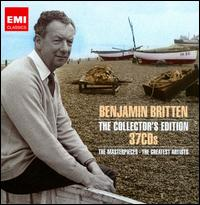 Benjamin Britten Collector's Edition - Adrian Thompson (tenor); Alan Harwood (organ); Alexander Barantschik (violin); Alexander Gallifant (vocals);...
