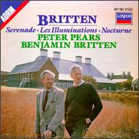 Benjamin Britten: Serenade; Les Illuminations; Nocturne - Alexander Murray (flute); Denis Blyth (tympani [timpani]); English Chamber Orchestra (chamber ensemble);...