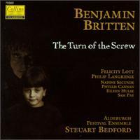 Benjamin Britten: The Turn of the Screw - Aldeburgh Festival Ensemble; Aline Brewer (harp); David Corkhill (percussion); David Owen Norris (piano);...