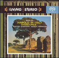 Berlioz: Harold in Italy; Overtures - William Primrose (viola); Boston Symphony Orchestra; Charles Münch (conductor)