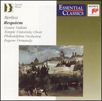 Berlioz: Requiem - Cesare Valletti (tenor); Temple University Choirs (choir, chorus); Philadelphia Orchestra; Eugene Ormandy (conductor)