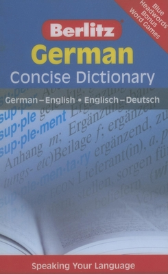 Berlitz German Concise Dictionary - Berlitz Publishing (Creator)