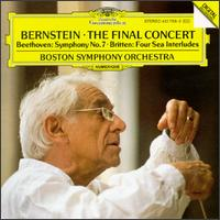 Bernstein: The Final Concert - Boston Symphony Orchestra; Leonard Bernstein (conductor)