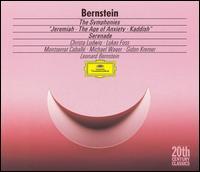 Bernstein: The Symphonies; Serenade - Christa Ludwig (vocals); Gidon Kremer (violin); Lukas Foss (piano); Michael Wager (voices); Montserrat Caballé (soprano);...