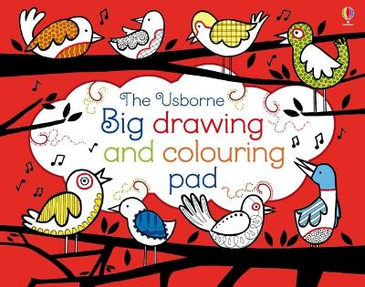 Big Drawing and Colouring pad - Watt, Fiona